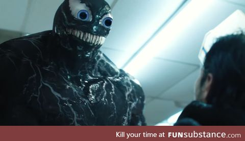 What if Venom had eyes