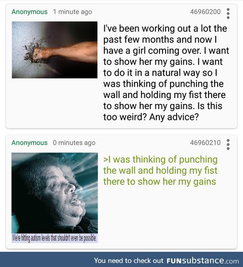 Anon impresses a girl