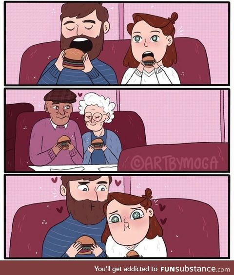 Cute old couples