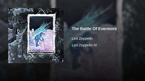 Zeppelin were Lord of the Rings fans