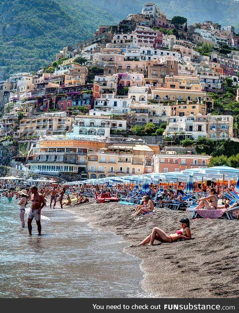 A beach in Italy