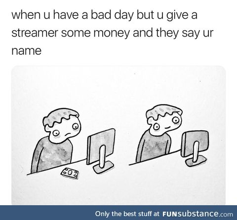 That's what money is for