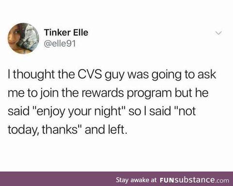 Something I'd do, tbh.