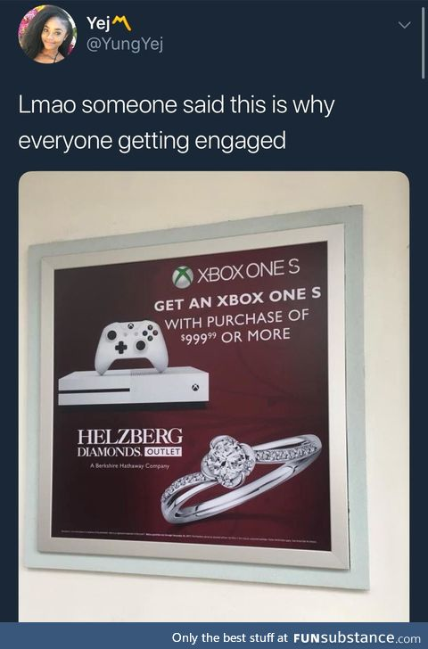 Will you marry me and Halo?