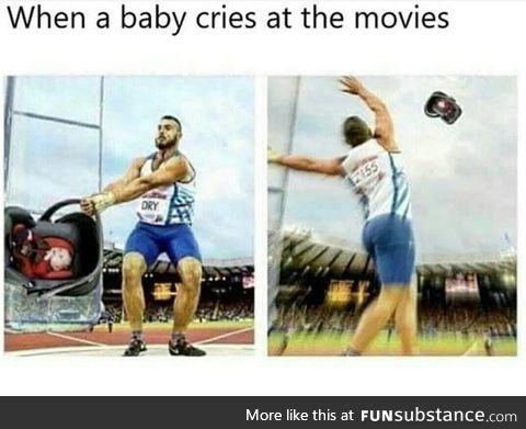 Or whenever u see a baby