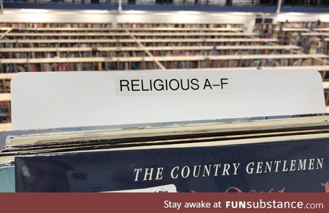 This section is religious as f*#k
