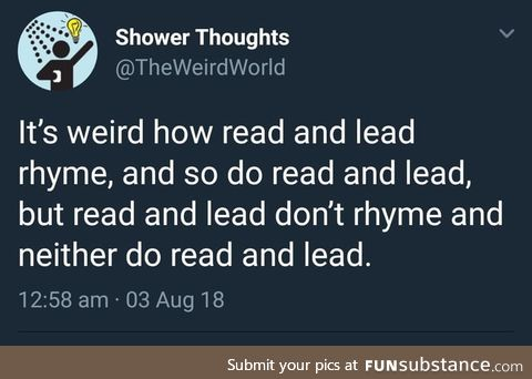 I tried to read this