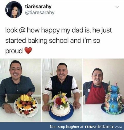 Great baking skills