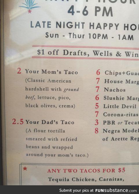 Your Dad's Taco