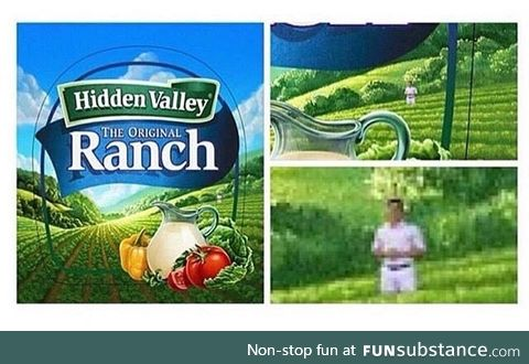 had to ranch it on em