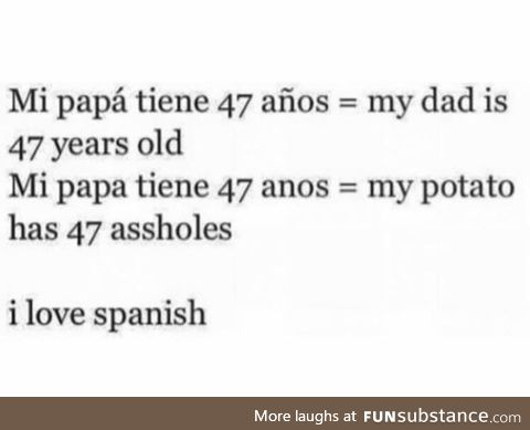 Spanish ftw