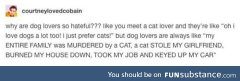 Dog lovers