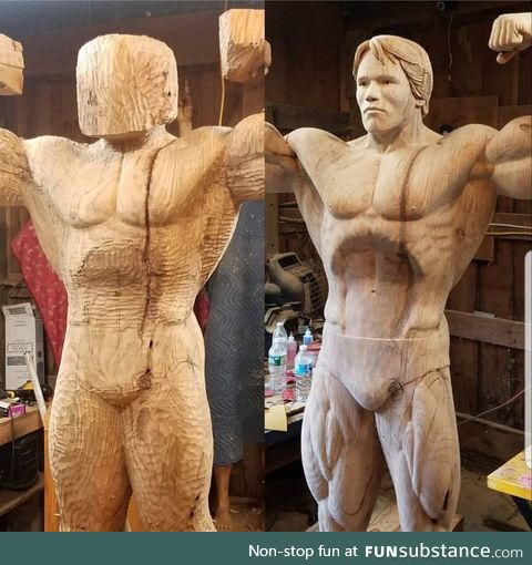 The Austrian Oak wood carving by James O'Neal