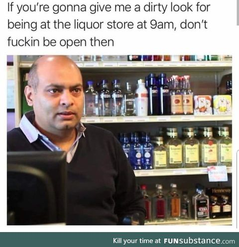 Don't f**king open at 9am paul?!