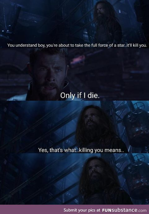 The humour was spot on in this movie, especially from Thor