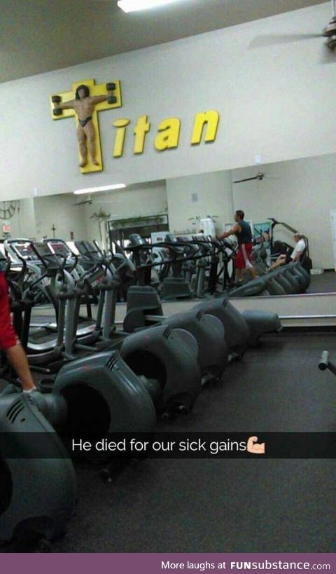 May we all achieve sick gains from his sacrifice