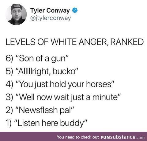 White anger