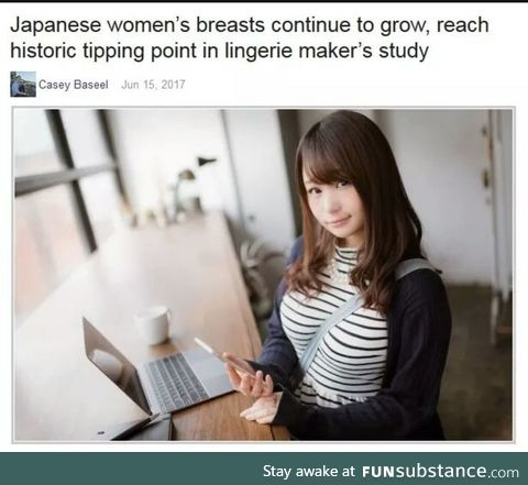 The Japanese are Evolving
