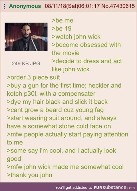 Anon is John wick