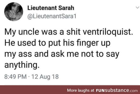 Only a finger, thankfully!