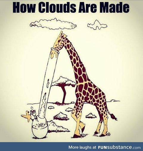 How clouds are made!