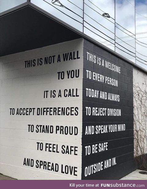 Not a wall