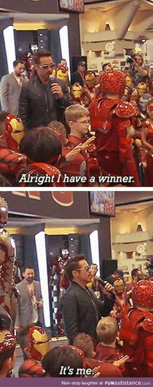 It's the real Tony Stark