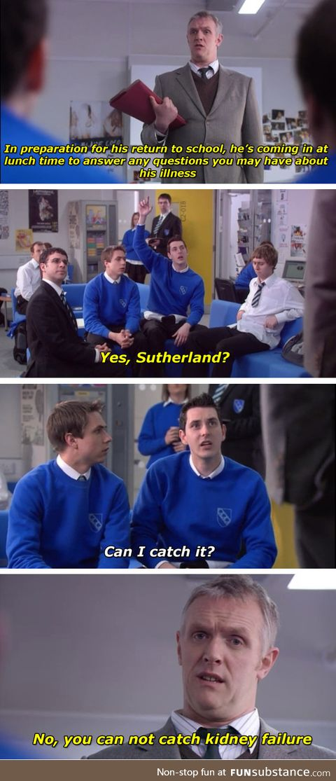 The inbetweeners is a gift