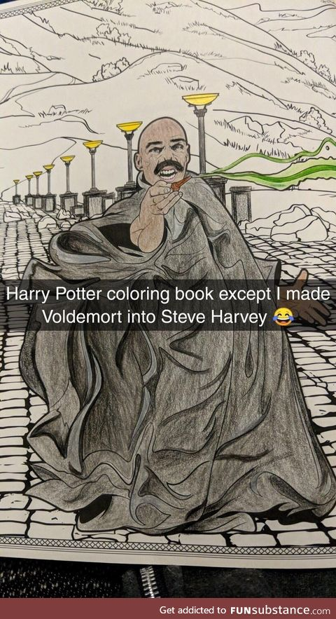 Voldemort steve harvey