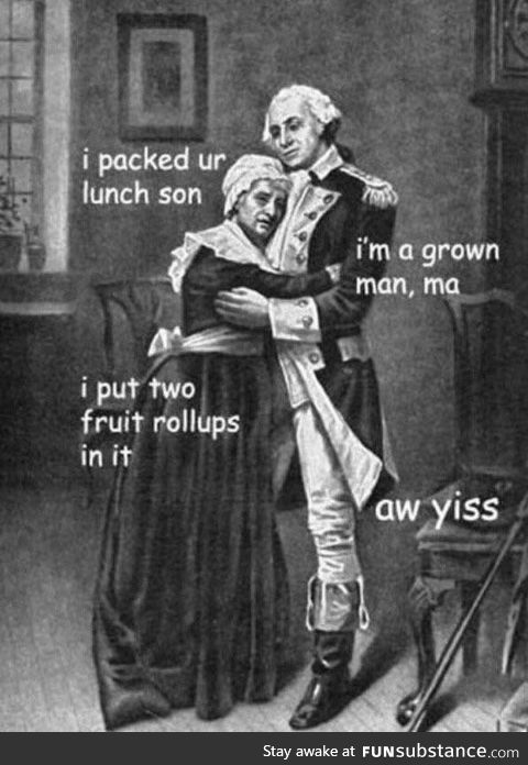 Rebellions were built on the backs of moms lunches