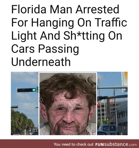 """Every article that starts with """"Florida man""""..."""