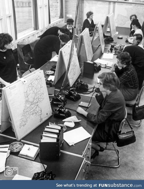 Long before Google Maps, we had navigation hotlines (1963)