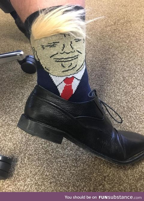 Believe me. My socks are the best