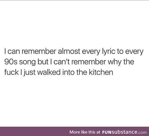 I'll remember 90s gangsta rap mostly tho
