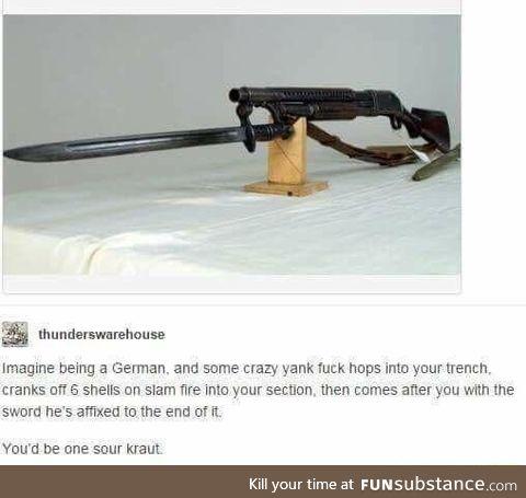 Trench gun best gun