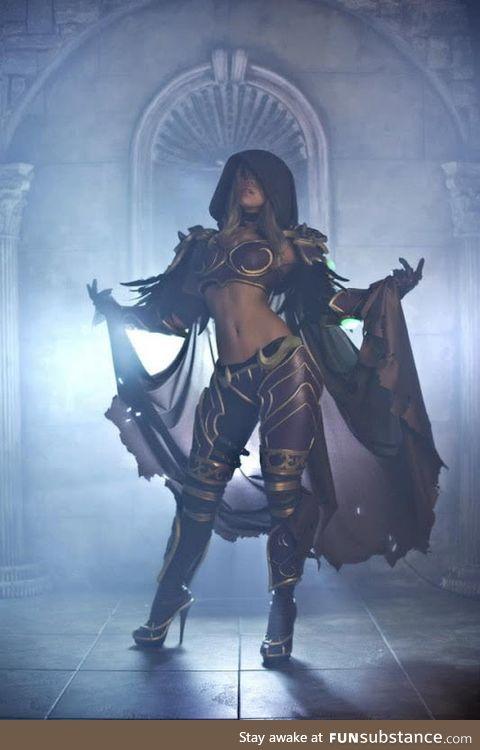 WoW Lady Sylvanas cosplay