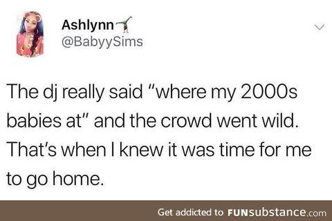 Time flies.