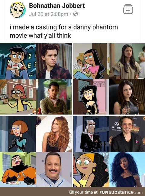 Casting for Danny Phantom