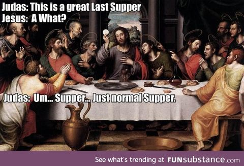 Just normal supper