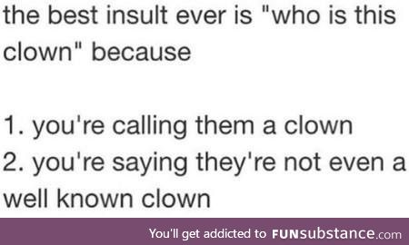 The ultimate insult