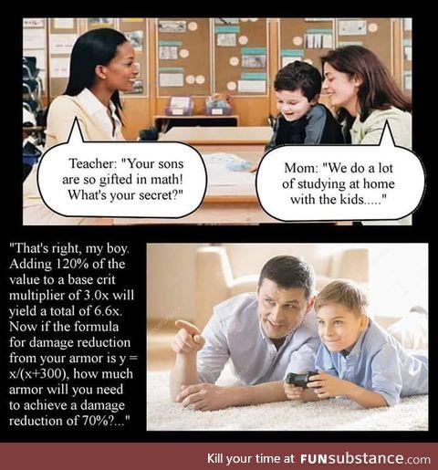 Warframe is math