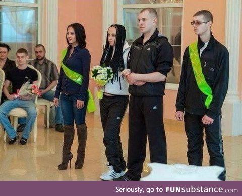 Typical Slav wedding
