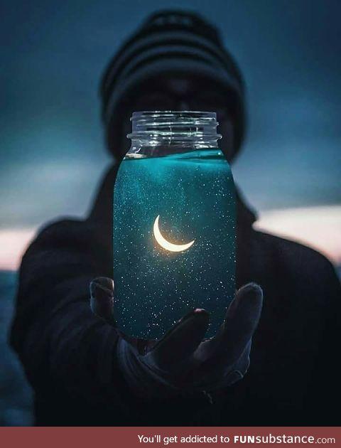 Moon in the jar