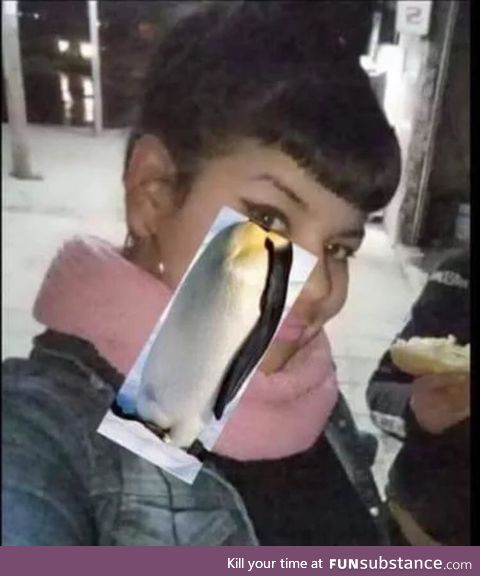 The penguin is in the eye of the beholder