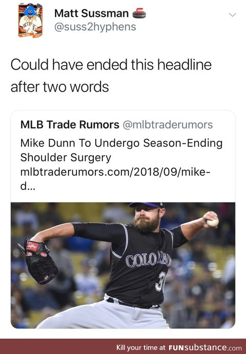 Mike done