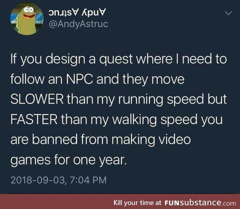 Worst game design