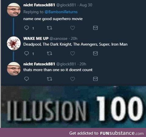 There's no good superhero movie