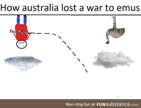 Why Australia lost the emu war