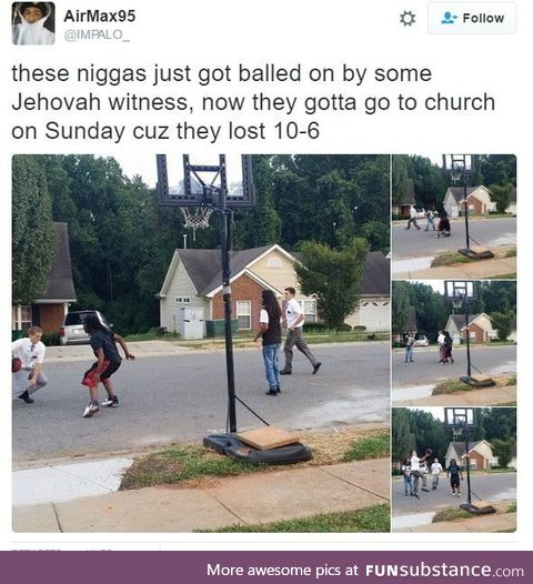 They are now Jehovah's b*tches