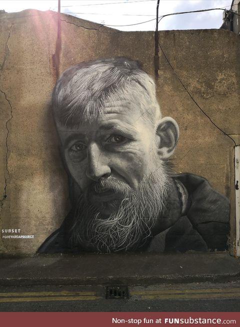 Amazing street art in Dublin, Ireland